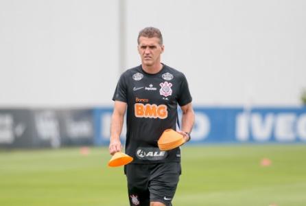Vagner Mancini - Treino Corinthians
