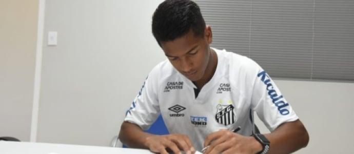 Angelo Gabriel - Santos