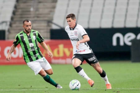 Mateus Vital - Corinthians x América-MG - 1º jogo