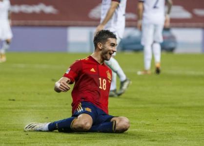 Alemanha x Espanha - Liga das Nações - Ferrán Torres