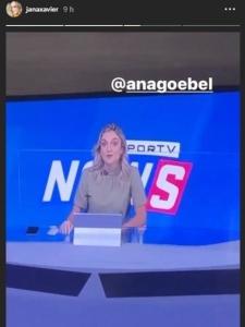 Janaína Xavier assiste Ana Helena Goebel