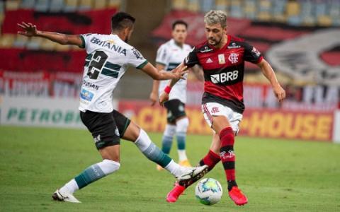 Flamengo x Coritiba - Arrascaeta
