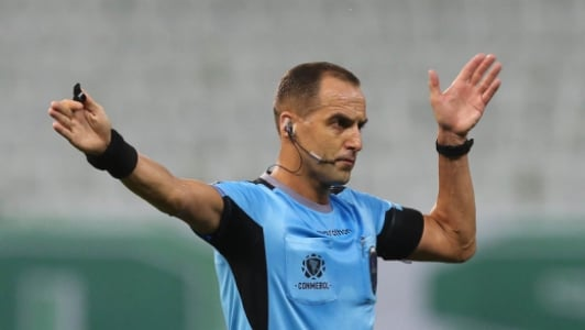 Esteban Ostojich Palmeiras x River