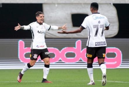 Corinthians x Fluminense - Comemoração