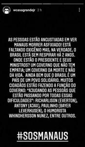 Casagrande (fala sobre Manaus)
