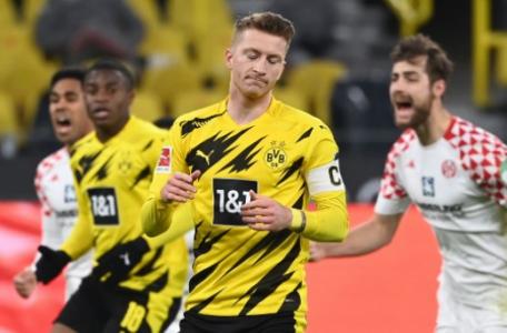 Dortmund x Mainz - Penalti Reus