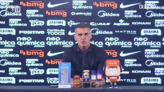 Mancini - Coletiva Corinthians