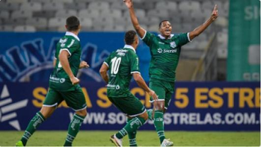 Amarildo foi o nome do jogo ao marcar o gol que deu a vitória para a Caldense