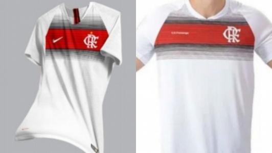 Camisa Flamengo - Acusação de plágio