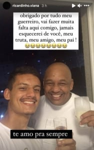 Homenagem Ricardinho Grêmio