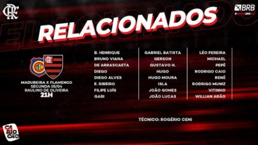 Flamengo x Madureira - Relacionados