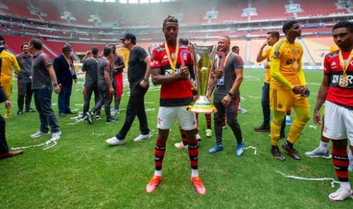 Flamengo x Palmeiras Supercopa do Brasil - Bruno Henrique