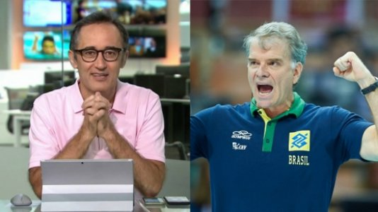 Marcelo Barreto e Bernardinho