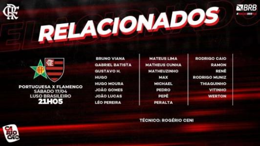 Flamengo x Portuguesa - Relacionados