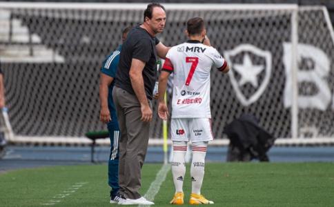 Rogério Ceni y Everton Ribeiro
