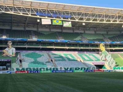 Mosaico Palmeiras x Santos