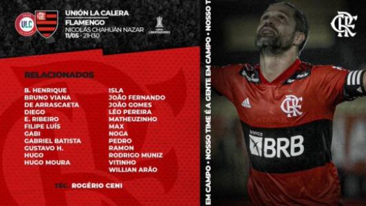 Escalação Flamengo