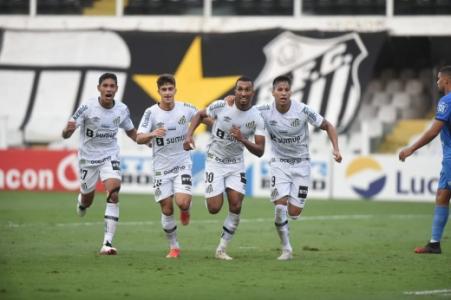Santos x São Bento - Lucas Braga