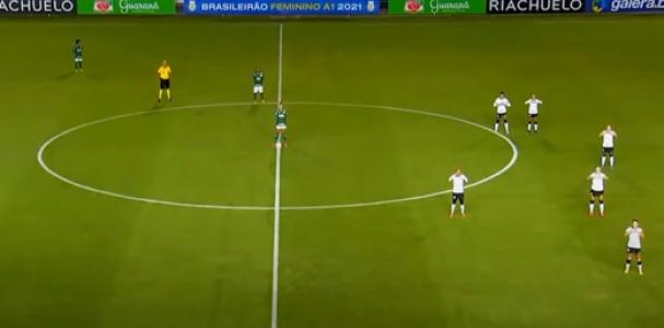 Corinthians x Palmeiras Brasileirão A-1 protesto