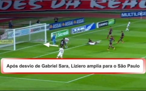 2º Gol SPFC X FERROVIÁRIA