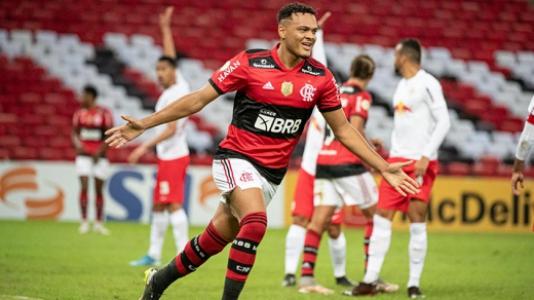 Flamengo x Bragantino - Comemoração Fla