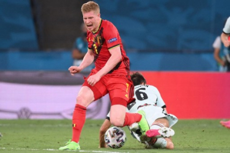 Bélgica x Portugal - De Bruyne