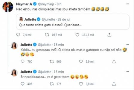 Neymar e Juliette