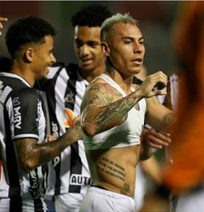 Vargas fez o gol salvador para o Galo, garantindo o time mineiro na outra fase da Copa do Brasil e um prêmio de R$ 3,45 milhões pelo avanço