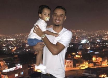 Luiz Henrique e filho (Botafogo)