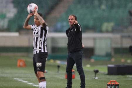Cuca elogiou o Galo e mesmo com o empate sem gols, achou quefoi o resultado foi bom