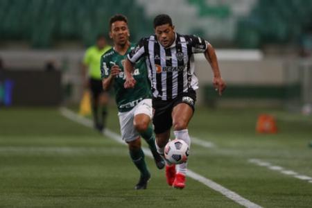 Hulk minimizou ter saído de jogo antes do fim no duelo contra o `Palmeiras