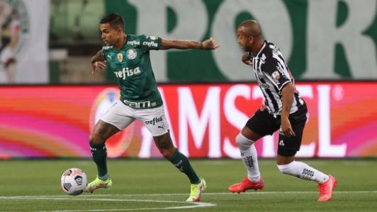 Dudu e Mariano - Palmeiras x Atlético-MG
