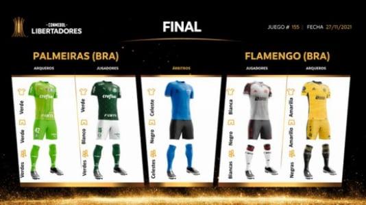 Uniformes Final Libertadores