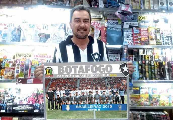 Garanta o seu pôster do Botafogo campeão e eternize essa conquista ... fbbfefebed422