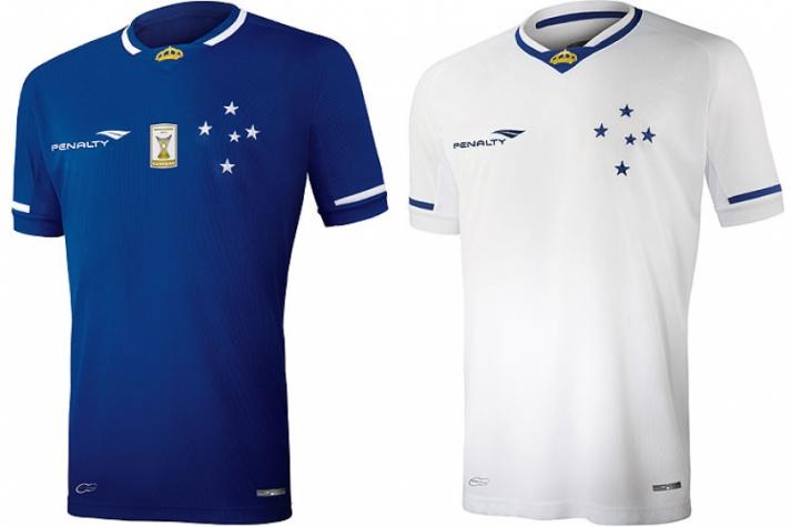 ... nova fornecedora de material esportivo. Camisa do Cruzeiro 60842306a648f