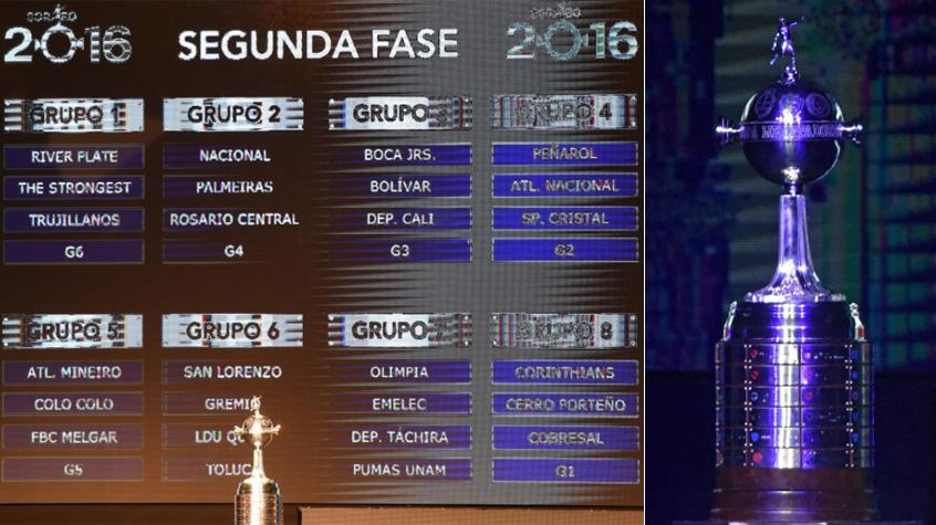 HOME - Sorteio da Libertadores de 2016 no Paraguai (Foto: Norberto Duarte/AFP)