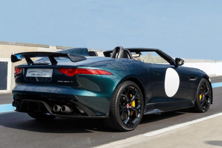 Jaguar  F-TYPE Project 7 J