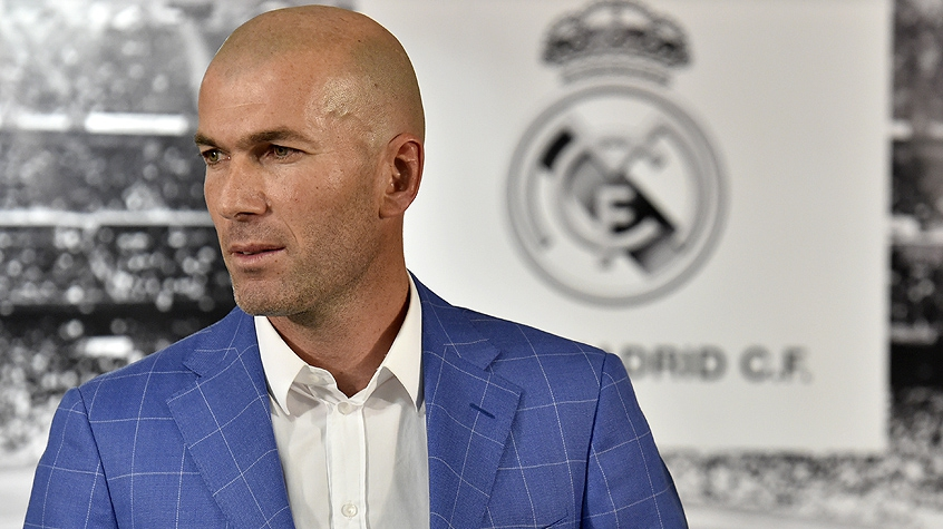 HOME - Zidane é o novo técnico do Real Madrid (Foto: Gerard Julien/AFP)
