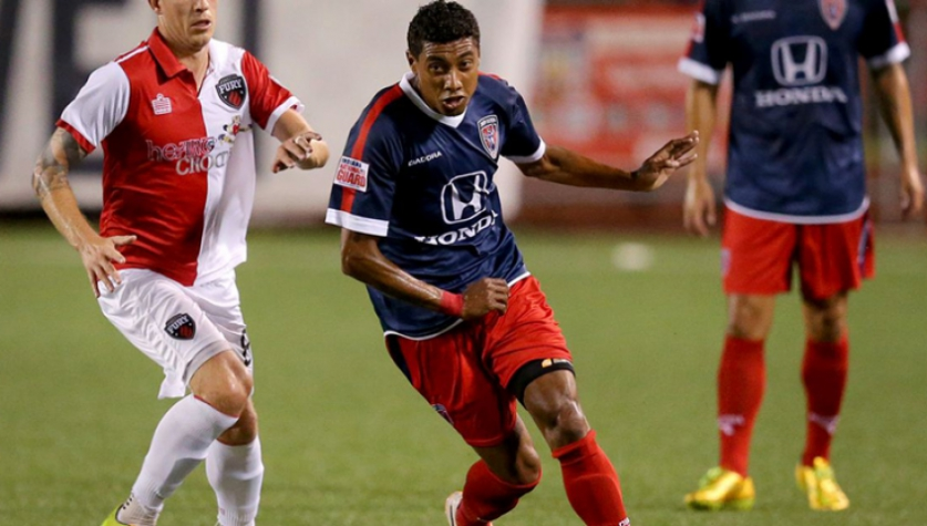 Kleberson (Foto: Site Oficial / Fort Lauderdale Strikers)