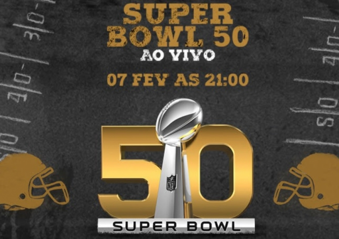 Super Bowl nas telas de cinema