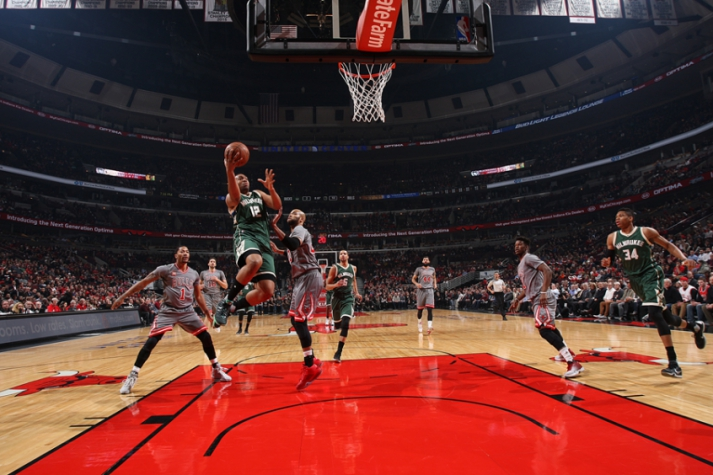 NBA - Chicago Bulls x Milwaukee Bucks