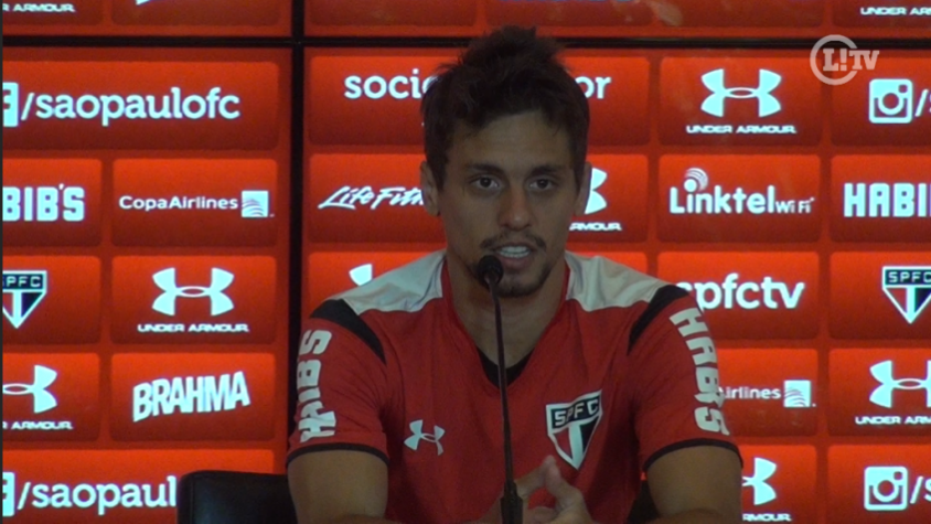 Rodrigo Caio coletiva China