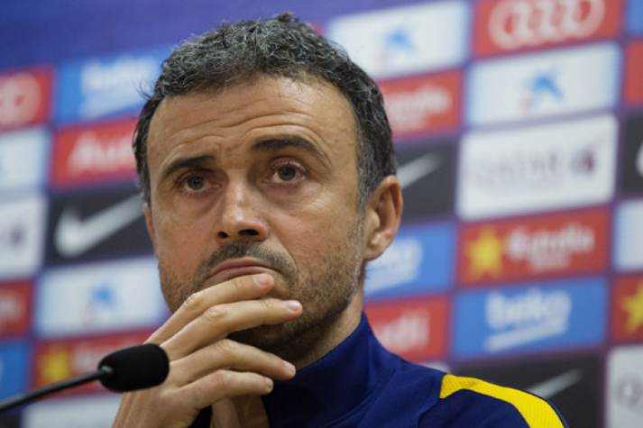 Luis Enrique - Barcelona (Foto: Pau Barrena / AFP)