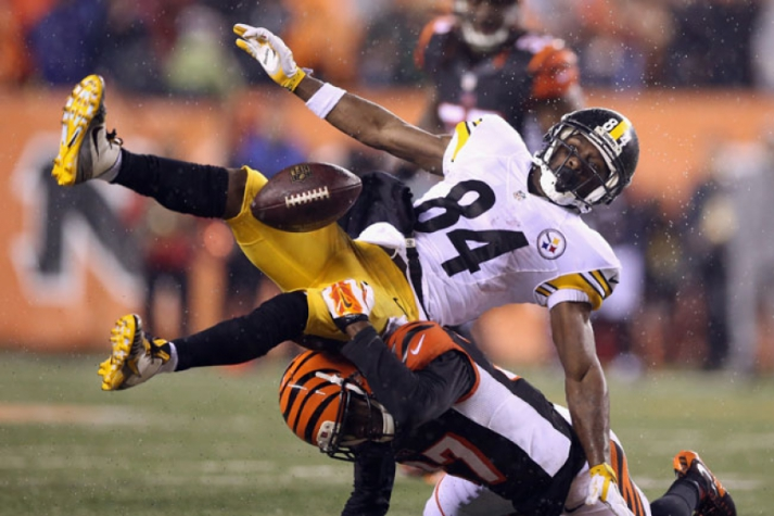 Antonio Brown - Pittsburgh Steelers (Foto: Andy Lyons / AFP)