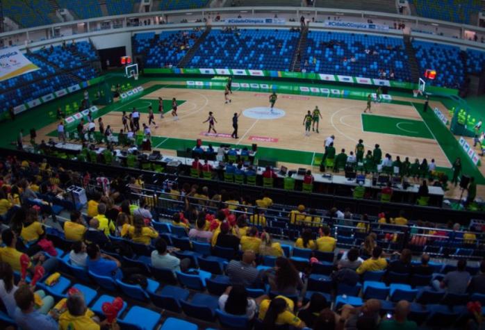68ab41089 A Arena Carioca 1 será o palco do basquete na Olimpíada (Foto  Rio 2016    Alex Ferro)