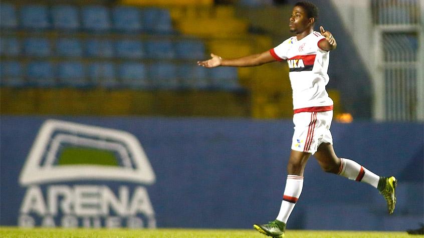 HOME - Flamengo x América-MG - Copinha - Matheus Trindade (Foto: Daniel Vorley/AGIF/LANCE!Press)