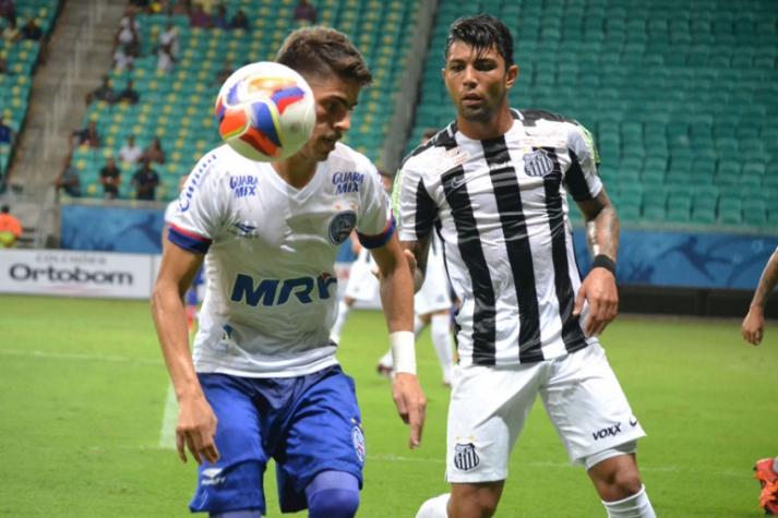 Amistoso - Bahia x Santos