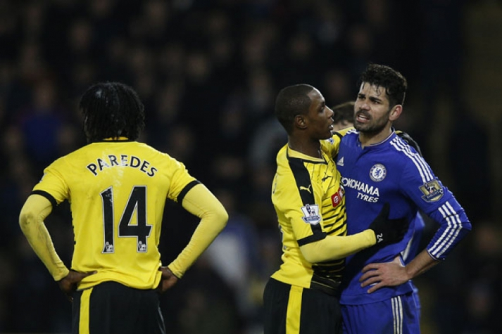 Diego Costa e Paredes - Watford x Chelsea