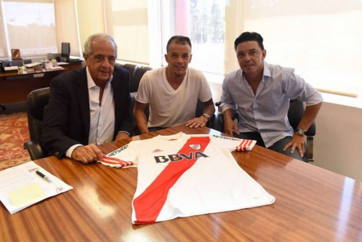 D'Alessandro no River Plate