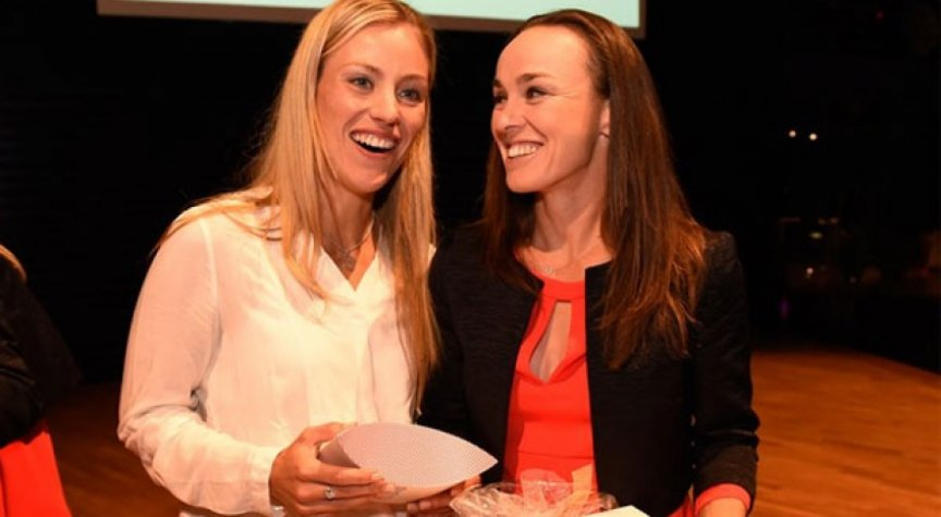 Angelique Kerber e Martina Hingis